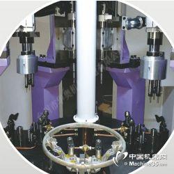 供应起亚方向盘四工位转盘式钻攻专用机