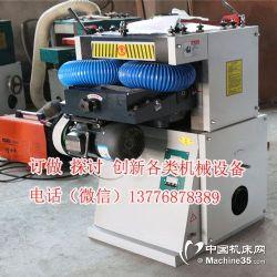 木工机械双面压刨机床刨木机木线机电刨双面刨削木机