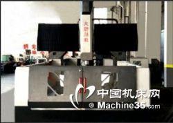 大恒供应三菱控制系统台湾主轴数控龙门铣床