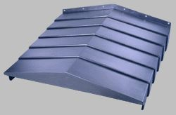 供应DV-168规格X轴主轴钢板防护罩厂家