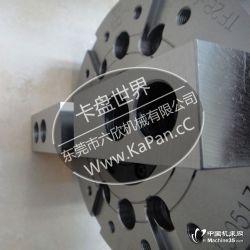 供应超耐磨进口卡盘台湾通福TF2B-10卡盘 两爪中空液压
