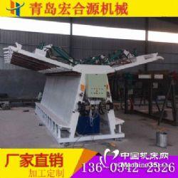 供应宏合源双面液压拼板机方木拼接机板材加工专用拼板