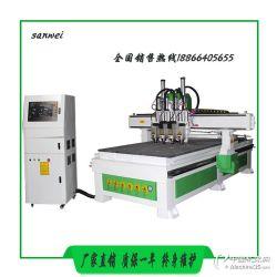全自动气动换刀数控雕刻机 全自动CNC数控雕刻机 全自动板式