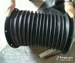供应圆形气缸防护罩丝杠防尘罩