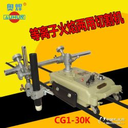 供应CG1-30K等离子直线轨道切割机等离子火焰两用切割机