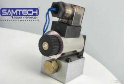 供应二位三通液压电磁球阀换向阀23QDF6K-4X-24V(