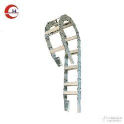 供应钢铝拖链工程穿线拖链