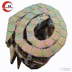供应镀锌机床钢拖链 机床穿线电缆坦克链