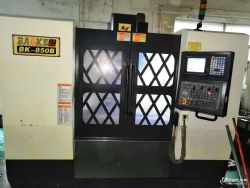 CNC数控机床 宝烽850加工中心 三菱M70A 工厂在位机
