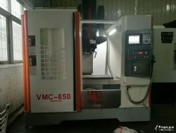 VMC850 CNC数控加工中心机床 圆盘刀库 三菱系统