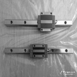 供应线性滑轨滑块hgh30 摩擦系数 直线滚珠滚柱导轨道安装