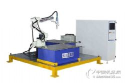 广东大汉双工位工作平台三维光纤激光焊接机