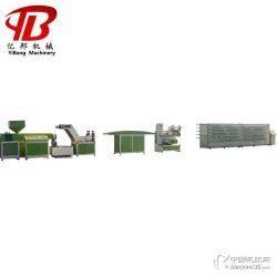 PPPE网眼袋拉丝机 防晒网捆草网用塑料扁丝拔丝生产设备