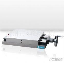 神鹰手动燕尾滑台V150配手←轮刻度盘 直线度0.005mm