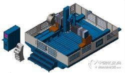 供应HCK系列三轴数控龙门加工中心