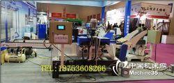 电脑数控立柱喷漆机 全自动楼梯柱喷漆机价格 数控木工喷漆机