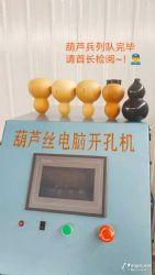安徽铜陵兴隆数控葫芦丝切嘴打孔机