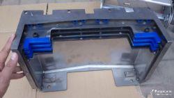 供应滕州vmc1270加工中心机床xzy轴导轨钢板防护罩