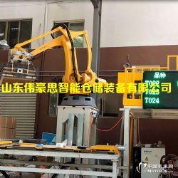 高效纸箱码垛机器人价格箱料码垛机设备