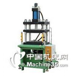 方天電機轉子端蓋壓裝機 軸對壓壓裝臥式液壓機 雙缸油壓壓入機