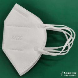 半自动KN95/N95口罩机 折叠型口罩生产设备 内置鼻梁条