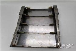 厂家直销台信V8立式加工中心导轨式钢板护罩