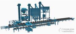 青岛砂处理线厂家,铸造生产用粘土砂生产线,青岛爱斐特砂处理线