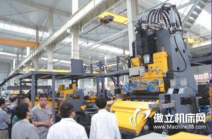 法因推出新品 复合机床渐成钢结构设备主流
