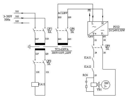 但有的数控机床生产厂家一味为了节约成本,对电气控制系统的设计往往