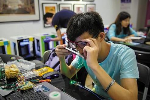 天津举行首届工业机器人应用技能大赛