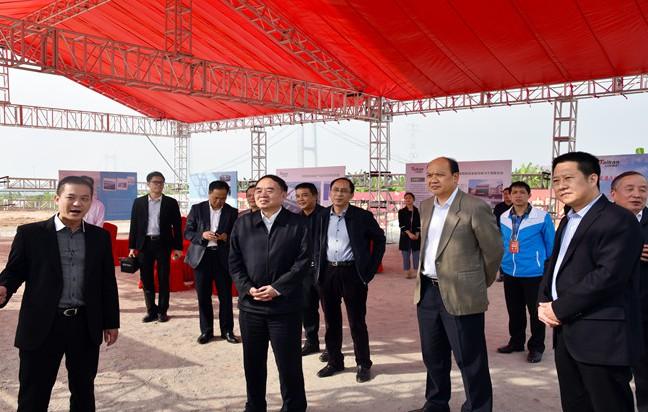 中国工程院院长周济把脉东莞沙田镇智能制造产业
