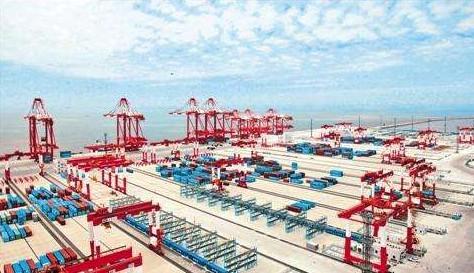 上海又建成一个全球最大智能无人码头