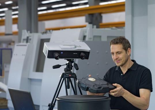 蓝光拍照式三维扫描仪 COMET L3D