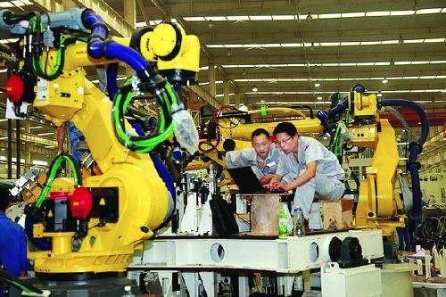 中国连续四年成工业机器人销量冠军