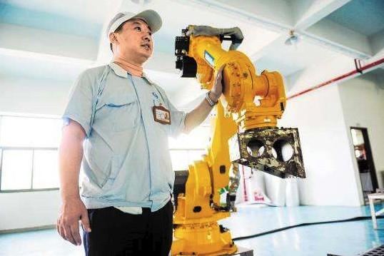 工业机器人是一个非常有潜力的行业