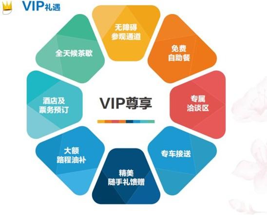 VIP礼遇享不停