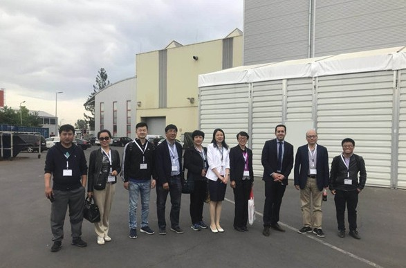 感受高端制造魅力 中国工程机械工业协会欧洲考察团参观林茨机床厂