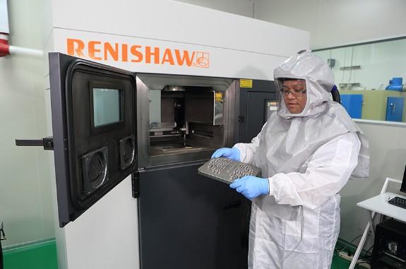 雷尼绍AM250金属3D打印系统在医疗领域的应用