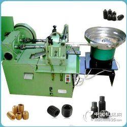 滚丝机 全自动滚丝机 螺丝机 止付螺丝机 机米螺丝机