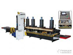 MJR1000數控立式帶鋸 指接板開片機