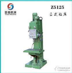 供应亚森机床Z5125立式钻床 方柱钻床 小型立钻