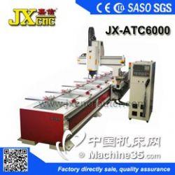 供应JX-ATC6000 自动换刀型材加工中心