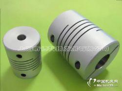 STL1/2/3弹性螺旋螺纹绕线平行管编码器联轴器伺服电机丝