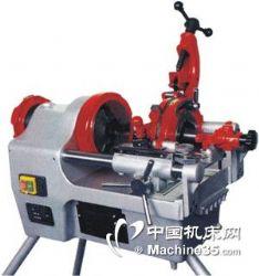 暖气管电动绞丝机,3寸电动管螺纹套丝机,3寸电动套丝机