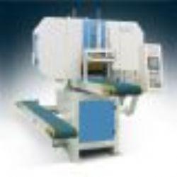 供應竹木板材開片機-MJ3971全自動臥式帶鋸機