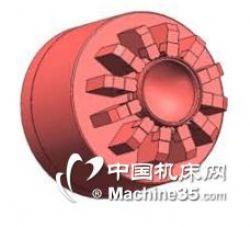 BOSSCHUCK齿轮卡盘  可气缸或拉杆驱动 支持非标
