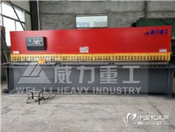 山东威力厂家直销25X3200液压闸式剪板机可配数控系统价格