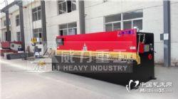 购买山东威力16X4000液压摆式剪板机,品质有保障价格