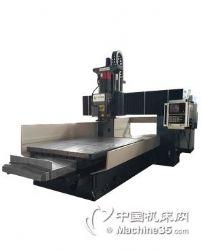 浙江小型自动双头精铣机 数控床身式数控铣床 数控加工中心铣床