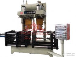 覆膜砂射芯机 双工位射芯机